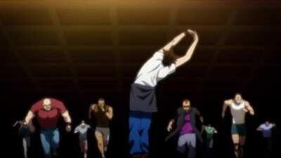 The God of High School Ep.1 - Fight Sequence