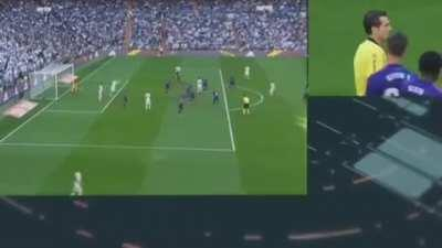 Modric's ruled out goal vs Celta (2019). To shut some idiots up about yesterday's