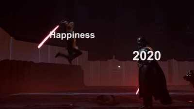 What this year has felt like