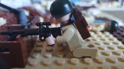 My Lego Stop Motion Film using Battlefield V Sounds