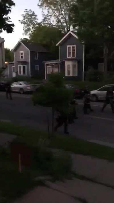 These cops who are shooting at civilians that are on their own private property