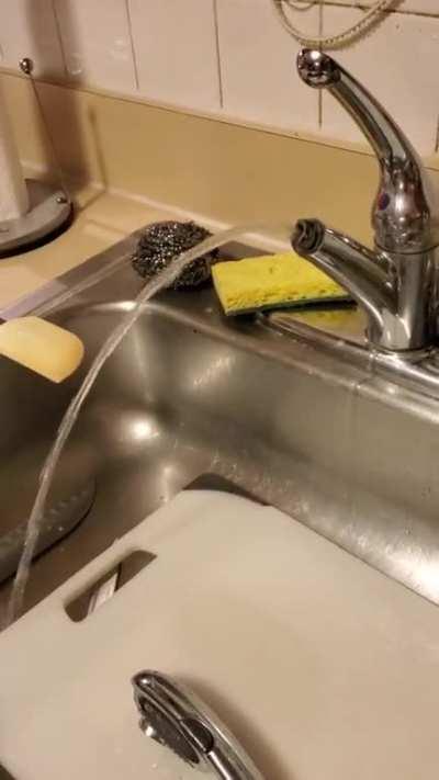 Sink mishaps
