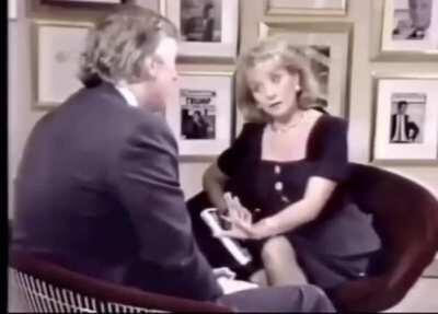 Barbara Walter Was Done With Trump Bullshit in 1990