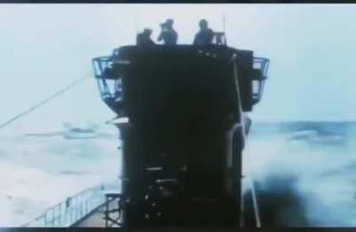 Kriegsmarine U-Boat warfare combat footage.