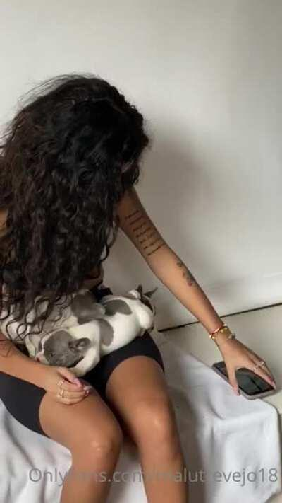 New video OF- Puppy!!