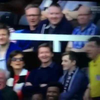 Questionable officiating prompts partially blind fan to offers his cane to the ref