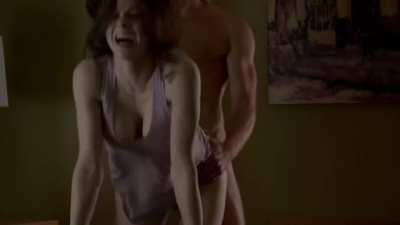 Alexandra Daddario Doggystyle - The Layover (2017)