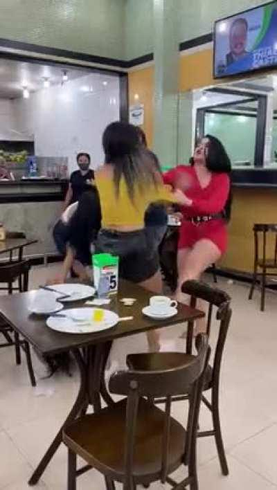 A fight broke out at my local restaurant