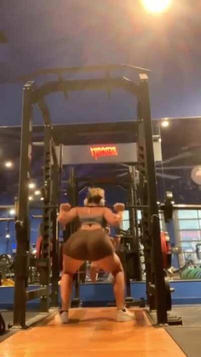 M'Alyssa crossing to the dark side at RedCuck1 Gym