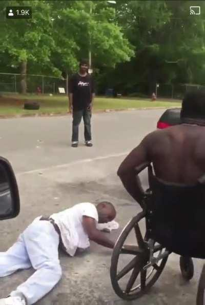 Handicappin that azz