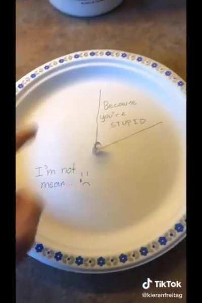 Oh god not the plateman