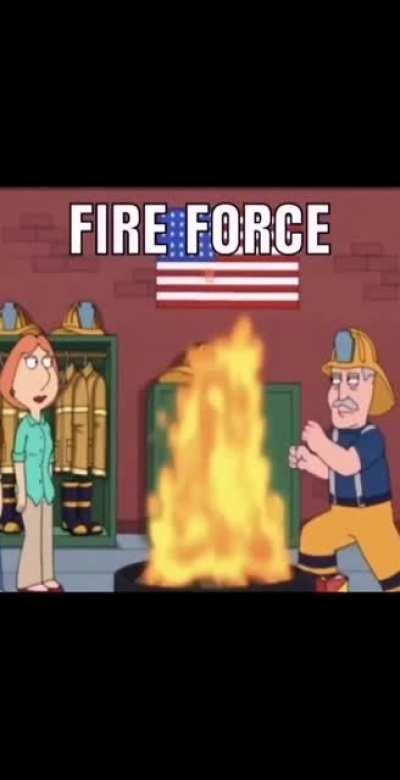 Fire force literally be like: