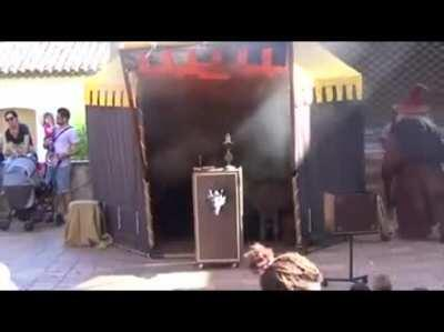 Shortest magic show with gandalf