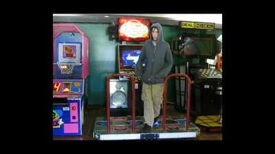 Both times Adam Lanza showed his face after playing Dance Dance Revolution slowed down