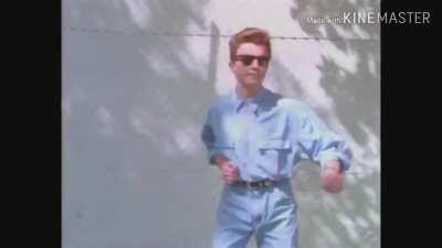 Rick Astley Gently Opens The Door (Please Don't Be Mad If It Hasn't Been Done Yet It Needed To Be)