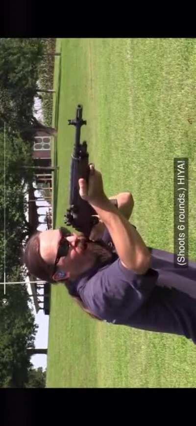 Gun jesus on A jungle patrol encounters the Vietcong 1960
