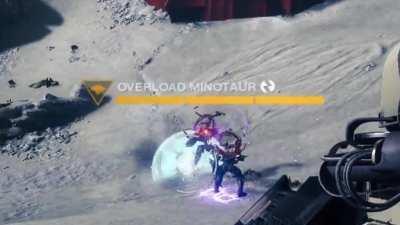 Overload Minotaur VS Barrier Knight 1vs1