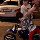 WCGW letting your kid ride a motorbike