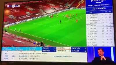 Ex Spurs manager Tim Sheerwood with some excellent analysis before the Bobby winner...