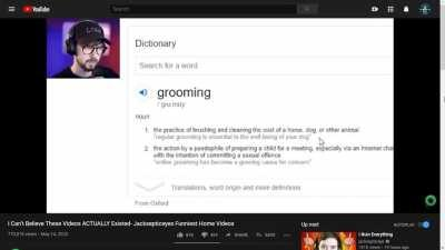 What is grooming?