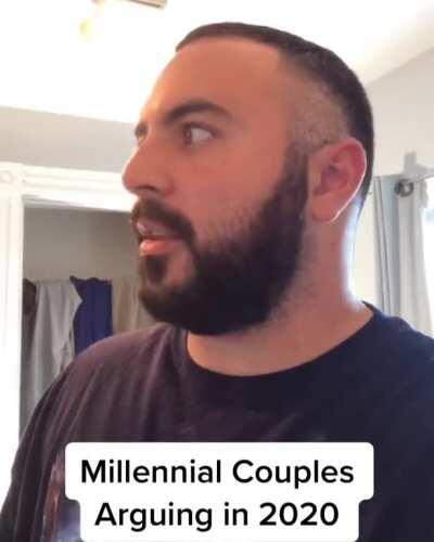 Millennial Couples Arguing in 2020