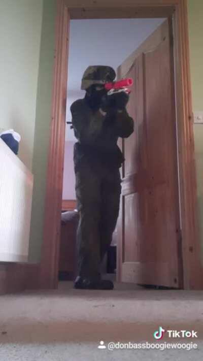 When you go to CQB field after watching james bond