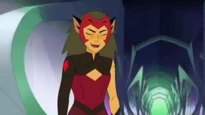 My friend showed me Japanese voiced Catra and I'm screaming