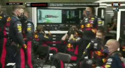 Team RedBull died inside today at the Austrian Grand Prix