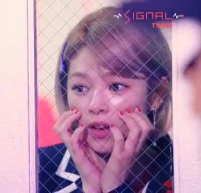 Jeongyeon being cute