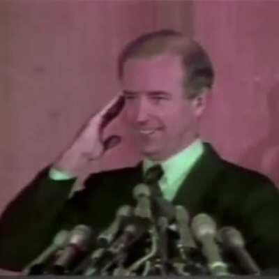 resurfaced footage of Joe Biden that MSM doesn't want you to see.