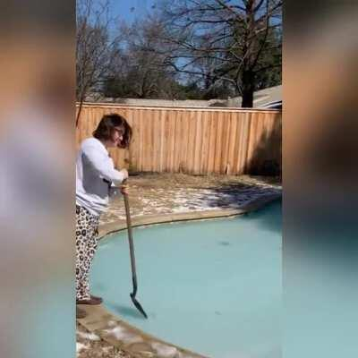 WCGW testing the ice