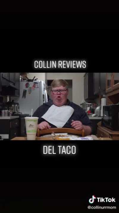Del Taco is the Last thing he should be having