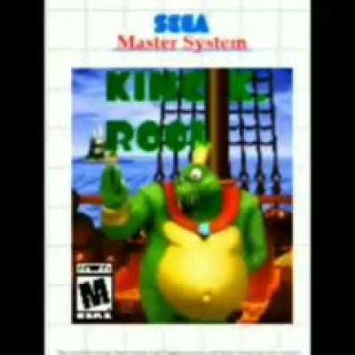 ahoy its me king k. rool on the sega master system