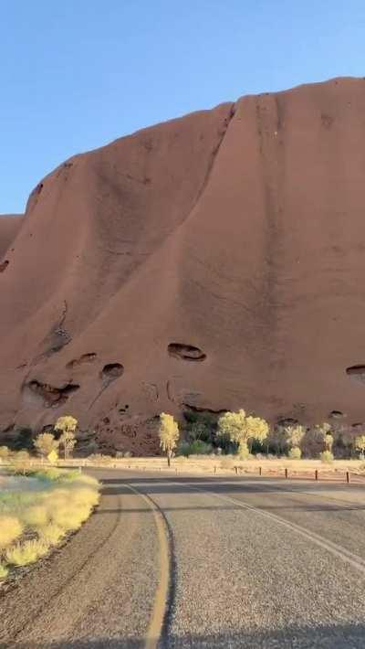 An amazing view of one of the greatest natural wonders, Uluru