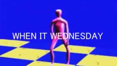 when it wednesday