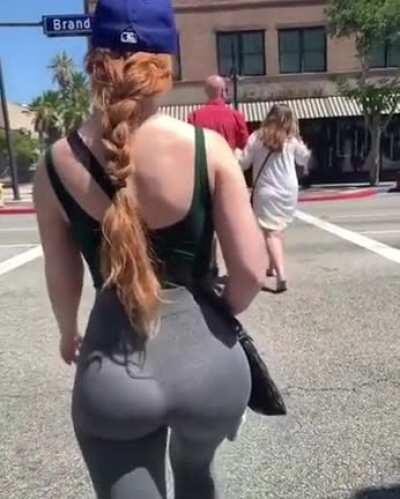 Redhair and slim thick