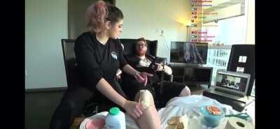 Wubby gets waxed