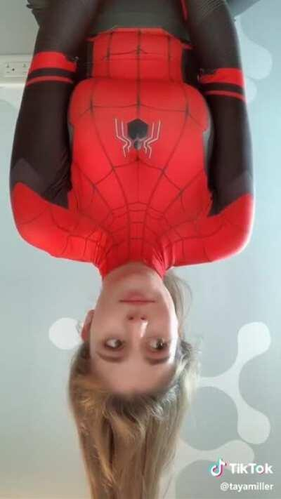 She needs to make more spider man TikToks