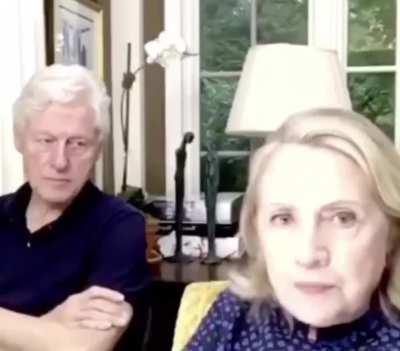 Clinton is dead inside