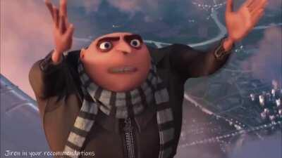 Gru is truly despicable