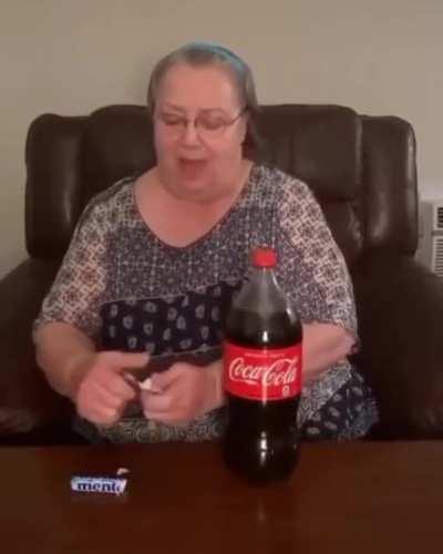 Coke and mentos
