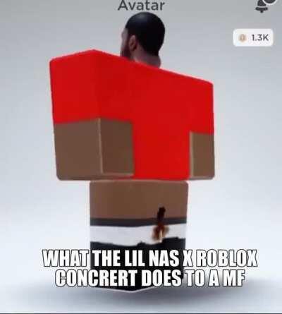 lil nas x 🤤🤤fortnite concert