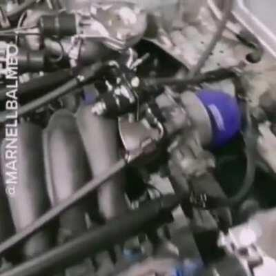 Quad turbo V8 singing the song of its people