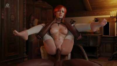 Shani full nelson fuck (Pewposterous) [The Witcher]