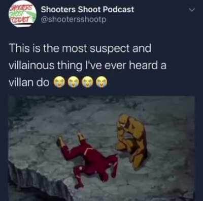 A most horrifying act of villainy!