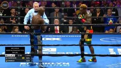 I like Tony Harrison but he had to eat his words against Charlo