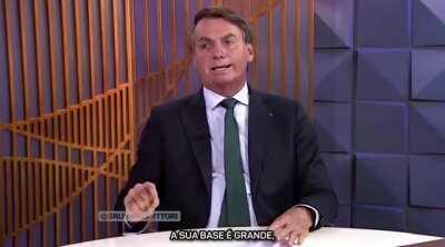 Rodrigo Maia e Jair Bolsonaro cantam Libera o Tonho - Arriba Saia (mais alguns anos e só com perícia profissional para descartar deepfake)
