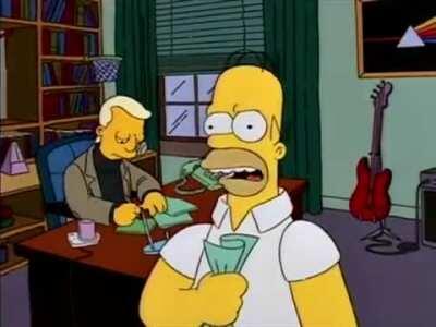 Homer exacts his revenge