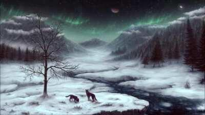Composed a piece inspired by Soule's ''Frostfall'' :-) Tried to make it feel ''cold''.
