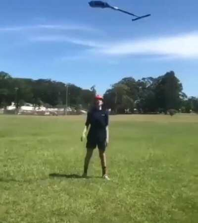 Lets throw this scooter into the air